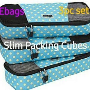 eBags slim package cubes
